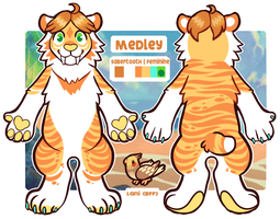 MEDLEY REF | 2017 by californiacoyote