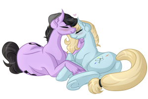 .:Art Trade:. Bangers And Kelly by Amazing-ArtSong