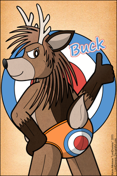 Buck Donner by LordDominic