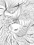 Free Adult Coloring Page by bonbon3272