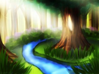 Magical Forest by NoisArakis