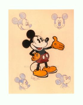 Homage to Mickey Mouse by Paluso4art