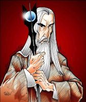 Saruman the White by renzomonero