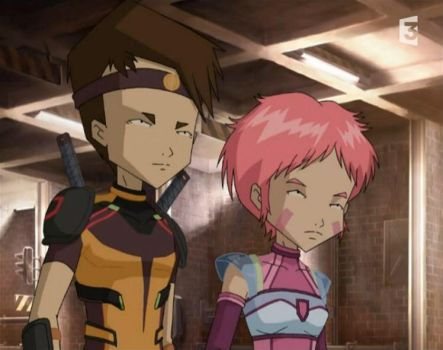 Ulrich and aelita -REAL WORLD- by R-dragon