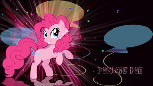 Pinkie pie with ponytails wallpaper by LeonBrony