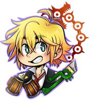 Seven Deadly Sins: Meliodas by DarkMagic-Sweetheart