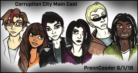 Corruption City Main Cast by PrennCooder