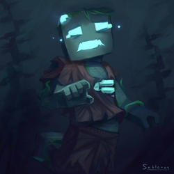Drowned - Minecraft by Proxentauri