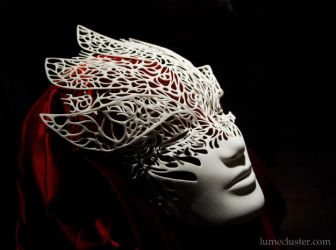 Dreamer Mask: Emergence (3D Printed) by Lumecluster