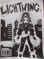The Incredible Lightning! by Snowleonheart