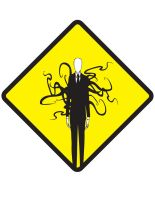 Caution Slenderman by MAIMONKY