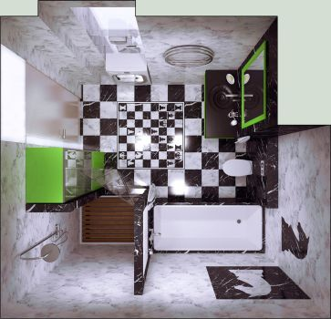 Bathroom by i-t-h-i-l