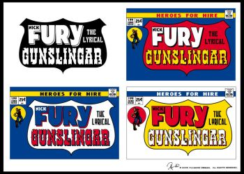 FURY comic titles by Known-Prime