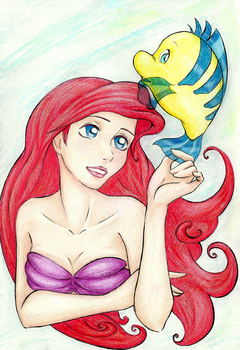 Little Mermaid by Yummy-Gummy
