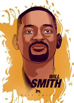 WILL SMITH Vector Art by workoutf