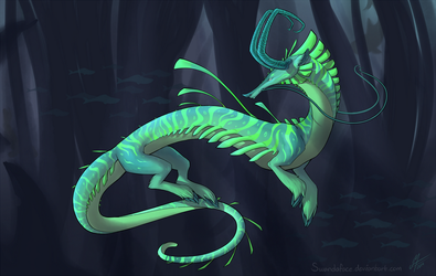 Creature by SwandaFace
