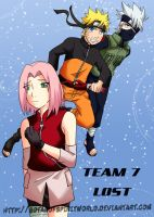 Team 7 Lost Doujinshi CoverPg1 by BotanofSpiritWorld