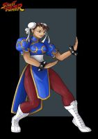 chun li  -  commission by nightwing1975