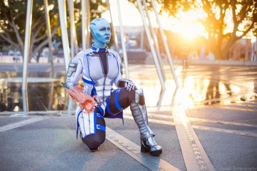 The Future - Liara T'Soni Cosplay by Soylent-cosplay