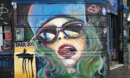 Street Art In Montevideo by angrybudcom