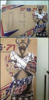 CM Punk On My Code27 Drawing Board by Tapla
