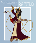 [CLOSED] RAFFLE GIVEAWAY! by SpaceOwlAdoptables