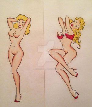 Pin Ups by AndrewStones