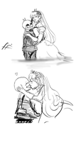 just married by Momoka123