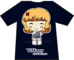 T-Shirt - SNSD Tiffany Hoot Chibi by nicella23