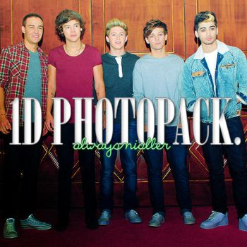 1D PHOTOPACK. by alwaysnialler