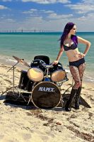Drummer For Hire 2 by MordsithCara