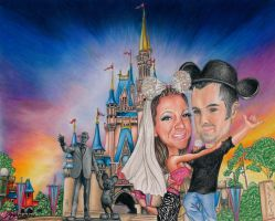 Mouse Engagement Mark and Amanda by LCArtDesign