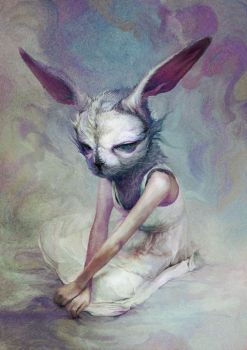 Rabbit by Ryohei-Hase