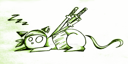 Meow - Zoro - by catmade
