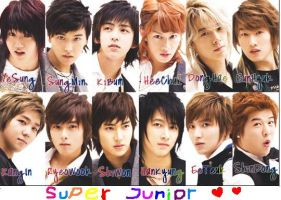 super junior x by kuichow