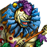 Clown Zombie png by Carlos123321
