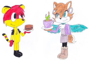 2 Cakes For Missbutlerart by ricol-wildcat