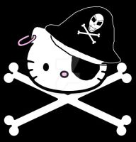 Hello Kitty pirate by supersushi-chan