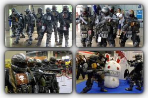HALO ODST appearance at STGCC 2010 by BazSg