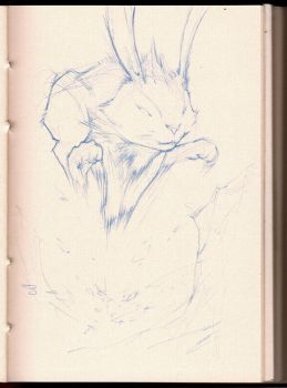 Sketch BunnyJump 01 by MinohKim