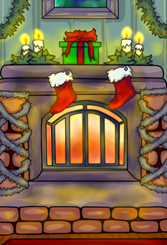 Free to Use: Holiday Hearth by Musing-Zero