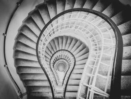 Cubism staircase by ulyce