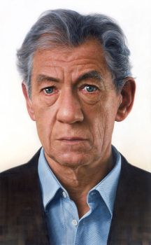 Persona (Face of Sir Ian McKellen) by JW-Jeong