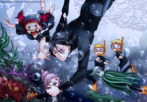 The bottom of the ocean by namisiaa