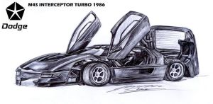 Special gift to Roddy1990, Dodge M4S Interceptor T by toyonda