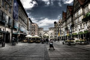 Eye on Munich XXIII by Michela-Riva
