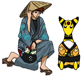 [PD] - Kimono for the New Year by Ser-Mangosta-Sand
