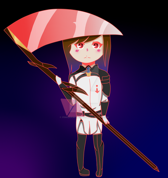 .:Owari no Seraph OC:. Yuna as Chibi by pinkDiamond1362
