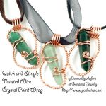 Free Tutorial - Crystal Point Wrap by Gailavira
