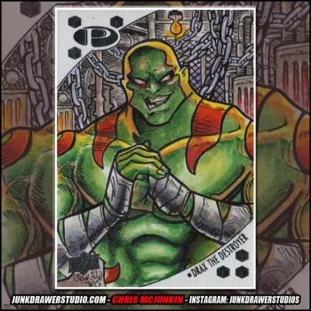 Marvel Premier Upper Deck Drax by ChrisMcJunkin